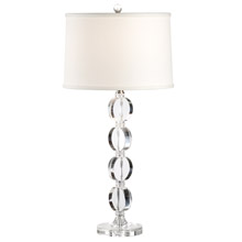Wildwood 22245 Crystal Discs And Discs Table Lamp