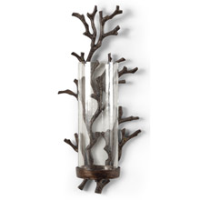 Wildwood 292430 Coral Candle Wall Sconce