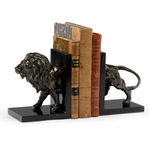 Wildwood 295553 Lioncrest Lion Bookends