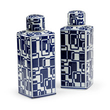 Wildwood 301310 Evelyn Set of 2 Canisters