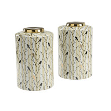 Wildwood 301311 Hitchcock Set of 2 Canisters