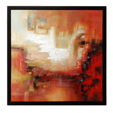 Wildwood 395042 Blaze Framed Oil Painting