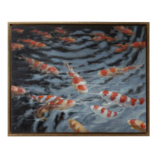 Wildwood 395054 Water Ballet Framed Oil Painting