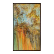 Wildwood 395116 Autumn Storm Painting with Silver Frame