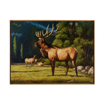 Wildwood 395137 Buck A Roo Oil Painting