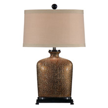 Wildwood 46636 Bumpy Bottle Table Lamp
