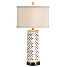 Wildwood 46646 Pierced Clubs Table Lamp
