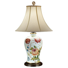 Wildwood 46673 Bold Flowers Table Lamp