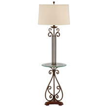Wildwood 46877 Floor Lamp With Tray