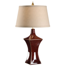 Wildwood 46908 Waisted Square Table Lamp