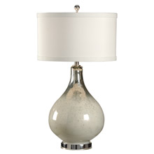 Wildwood 46917 Milky Bottle Table Lamp