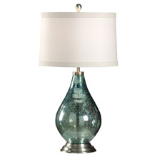 Wildwood 46918 Hammered Glass Table Lamp