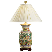 Wildwood 5236 Bird's Paradise Table Lamp
