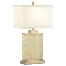 Wildwood 60327 Marble Block Table Lamp