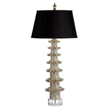 Wildwood 60428 Suzhou Tall Table Lamp - Silver
