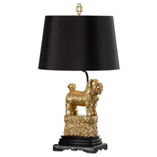 Wildwood 60494 Foo Foo Table Lamp (Left) - Gold