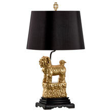 Wildwood 60495 Foo Foo Table Lamp (Right) - Gold