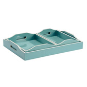 Lexie Set of 3 Trays - Wildwood 301323