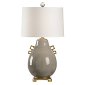 Transitional Ming Table Lamp - Slate - Wildwood 60498