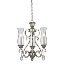 Z-Lite 720-3-AS Melina 3 Light Mini Chandelier