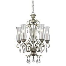 Z-Lite 720-5-AS Melina 5 Light Chandelier