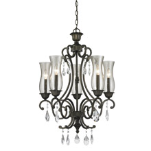 Z-Lite 720-5-GB Melina 5 Light Chandelier