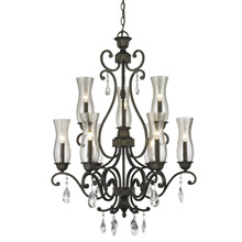 Z-Lite 720-9-GB Melina 9 Light Chandelier