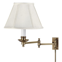 House of Troy LL660-AB Library Swing Arm Wall Lamp