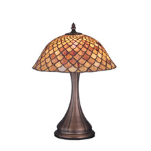 Meyda 81063 Tiffany Fishscale Table Lamp