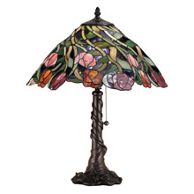 Meyda 82315 Tiffany Spiral Tulip Table Lamp