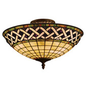 Tiffany Close-to-Ceiling Light Fixtures